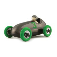 Playforever - Bruno Gunmetal Green Wheels